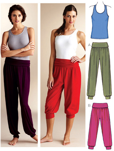 Kwik Sew Top & Pants 3835