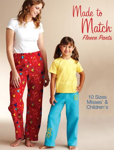 Kwik Sew Fleece Pants 3837
