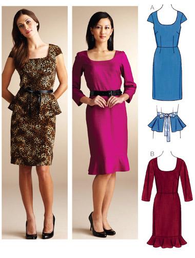 Kwik Sew Dresses 3839