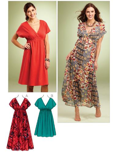 Kwik Sew Misses Dresses 3856