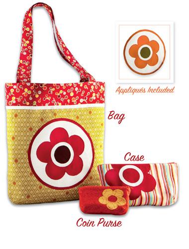 Kwik Sew Flower Bags & Cases 3857