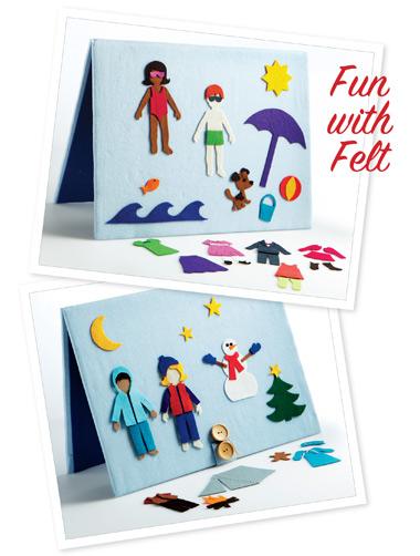 Kwik Sew Fun with Felt Toy 3858