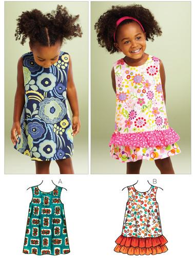Kwik Sew A-line Dresses 3864