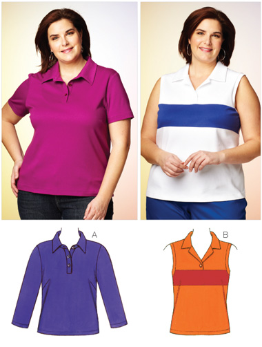 Kwik Sew Women's Tops