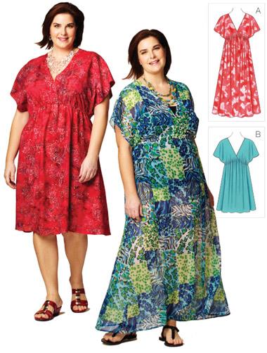 Kwik Sew Women's Dresses  3868