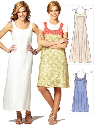 Kwik Sew Misses' Dresses 3872