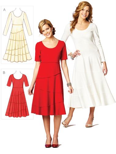 Kwik Sew Misses' Dresses 3873
