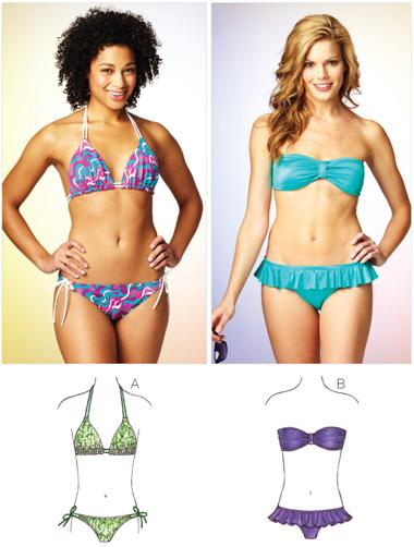 Kwik Sew Misses' Bikini 3875