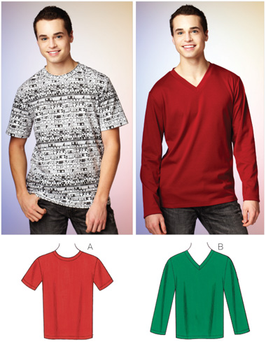 Kwik Sew Men's Shirts 3878