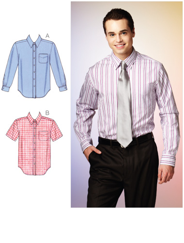 Kwik Sew Men's Shirts 3883
