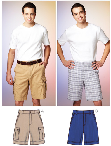 Kwik Sew Men's Shorts 3884