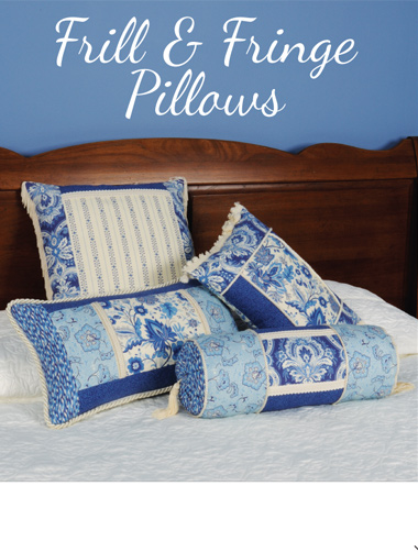 Kwik Sew Frill & Fringe Pillows 3894