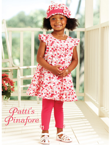 Kwik Sew Patti's Pinafore Girls Dress 3902