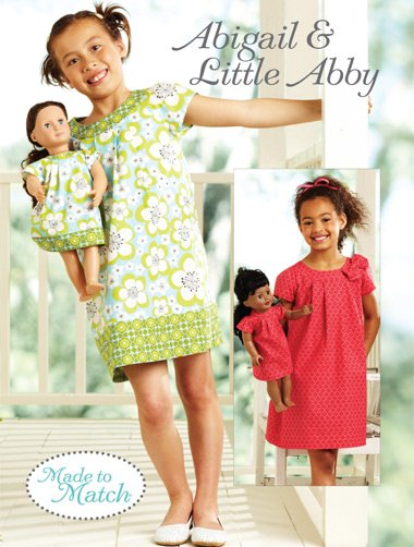 Kwik Sew Abigail & Little Abby Made to Match� Dresses 3905