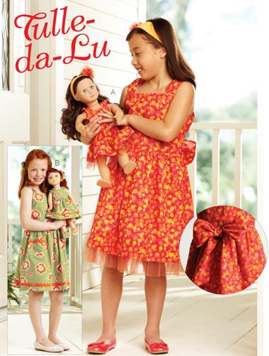 Kwik Sew Tulle-da-Lu Dresses 3906