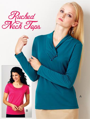 Kwik Sew Misses pullover tops  3915