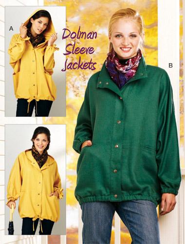 Kwik Sew MIsses Dolman Sleeve Jackets  3917