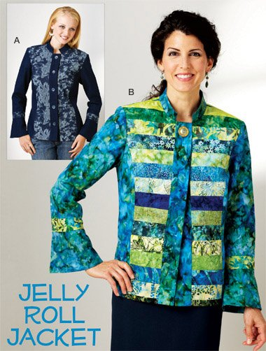 Kwik Sew Jelly Roll Jacket; Misses