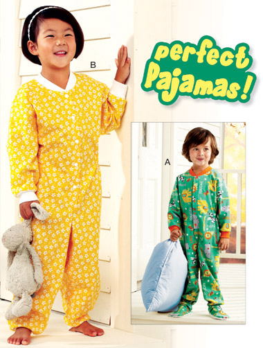 Kwik Sew Toddler's Pajamas