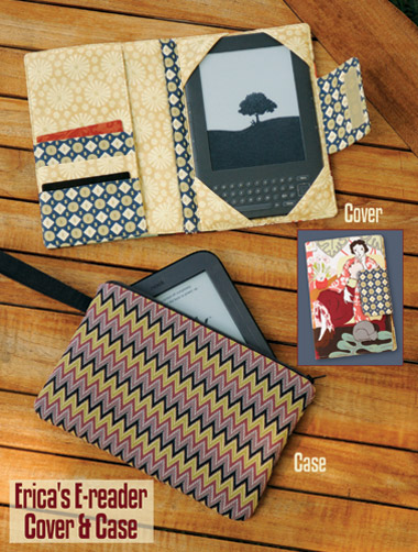 Kwik Sew Erica's E reader cover and Case 3924