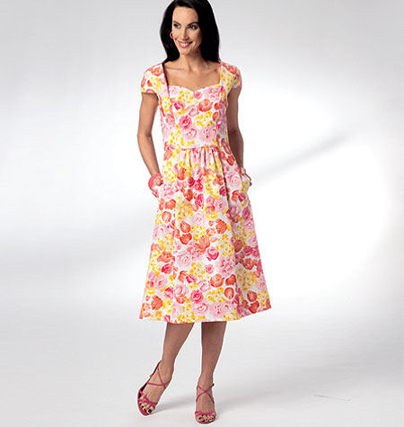 Kwik Sew Misses Dresses 3929