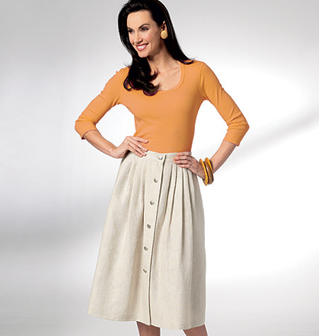 Kwik Sew Misses Skirts 3931