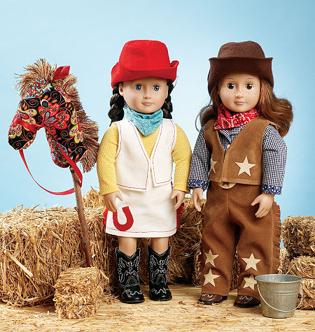 Kwik Sew Giddyup Doll Clothes & Accessories 3937