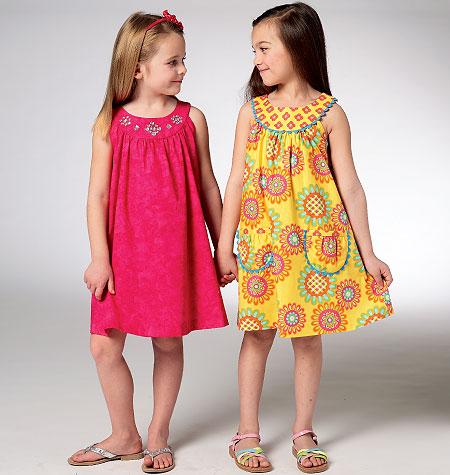 Kwik Sew Girls' Dresses 3940