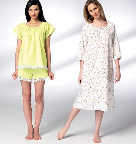 Kwik Sew Misses' Sleepwear 3943