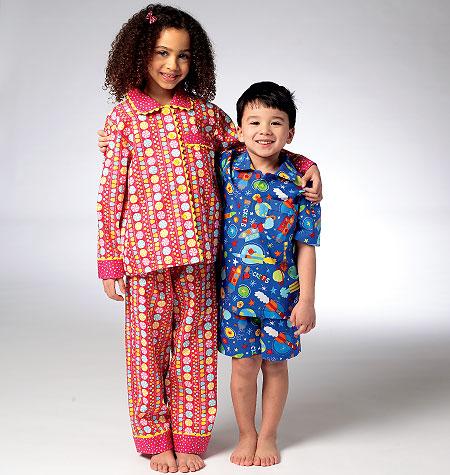 Kwik Sew Children's Pajamas 3945