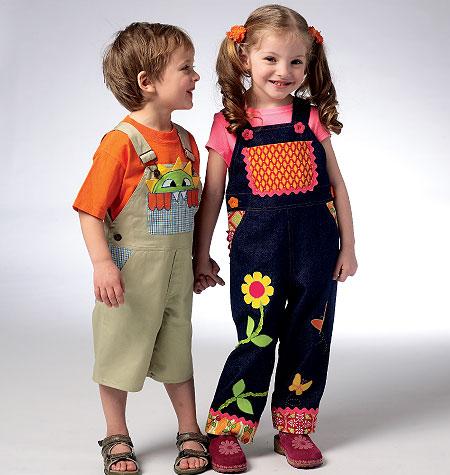 Kwik Sew Toddler's Overalls 3948