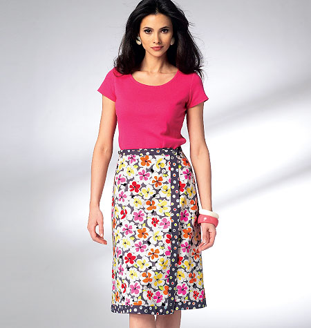 Kwik Sew Misses Skirts 3951