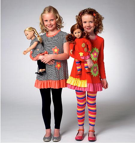 Kwik Sew Girl's Top and Leggings 3958