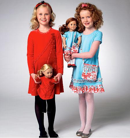Kwik Sew Children's Dress and Bag 3959