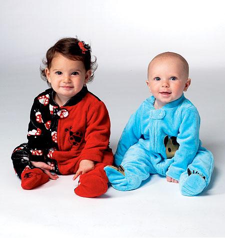 Kwik Sew Infant Sleeper 3960