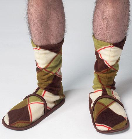 Kwik Sew Men's and Womens Fleece Socks 3968