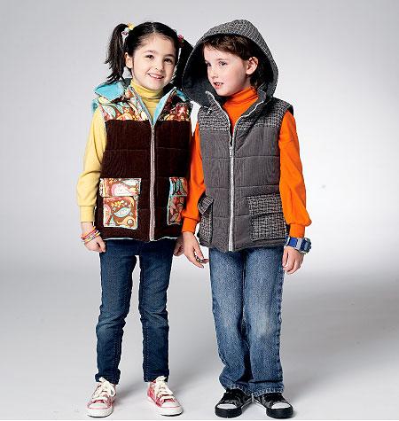 Kwik Sew Child's Vest 3975