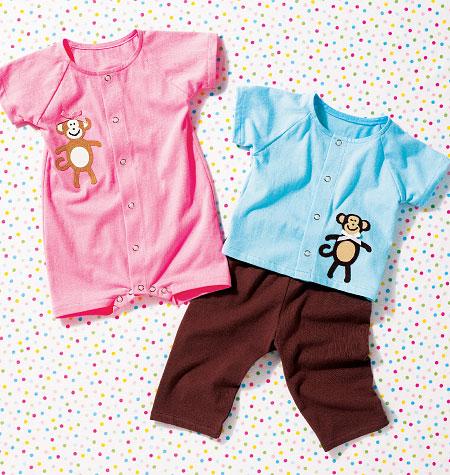 Kwik Sew Baby Top, Pants and Romper 3982