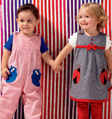 Kwik Sew Toddlers' Dress, Overalls and Pants 3983