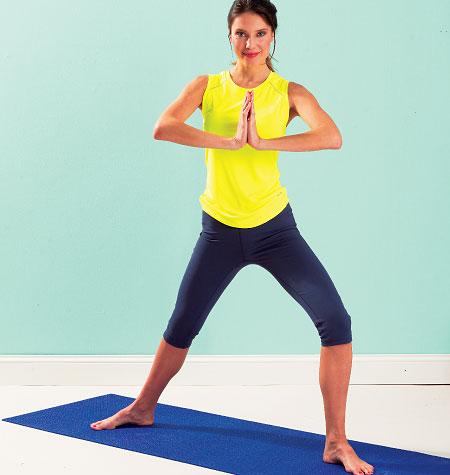 Kwik Sew Misses Yoga Pants 3988