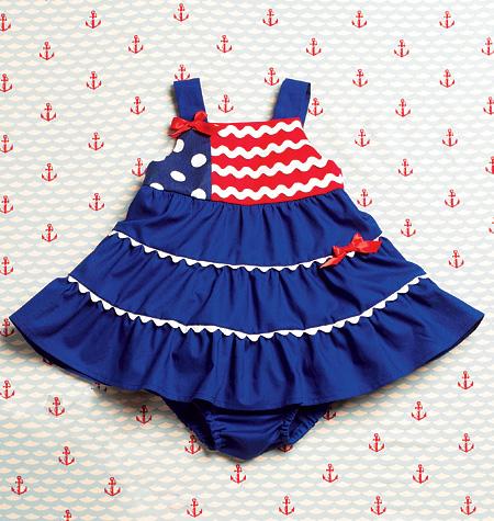 Kwik Sew Baby Dresses and Panties 3996