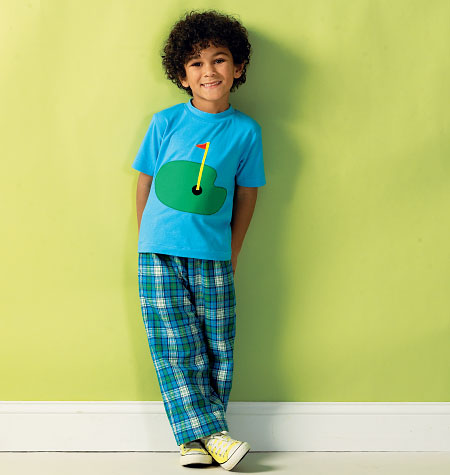 Kwik Sew Boys' Top, Shorts and Pants 3999