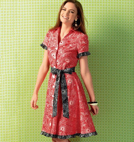 Kwik Sew Misses' Dresses and Belt 4000
