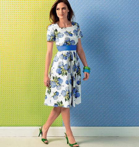Kwik Sew Misses' Dresses and Belt 4001