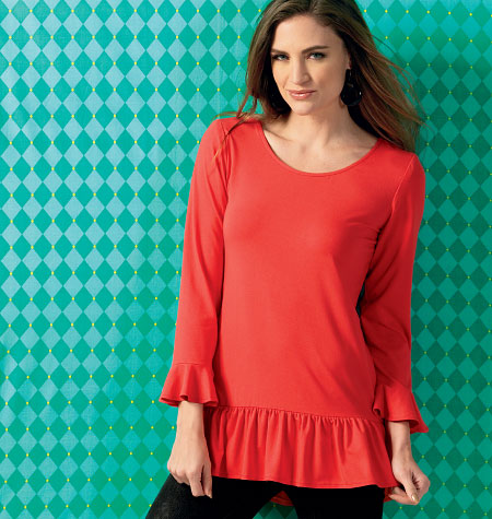 Kwik Sew Misses' Tunics 4002