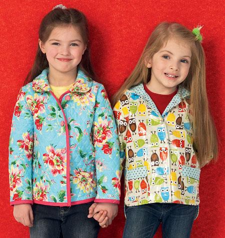 Kwik Sew Girls' Lined Jackets 4012