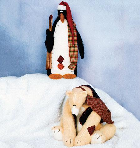 Kwik Sew Penguin and Bear 4021