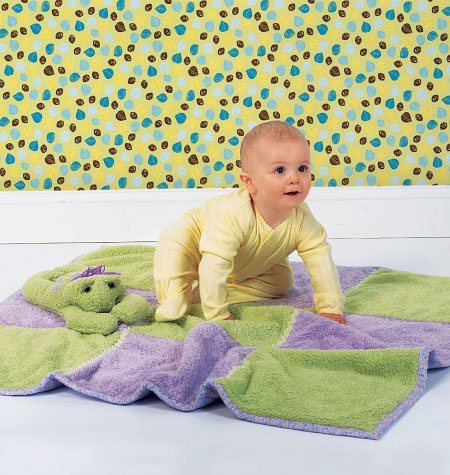 Kwik Sew Blanket and Toy 4022
