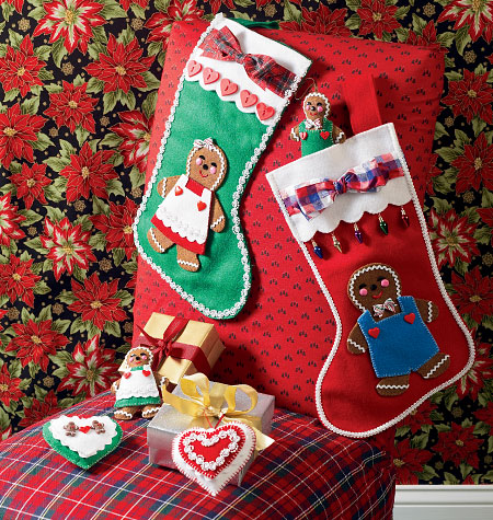 Kwik Sew Ornaments and Stockings 4023