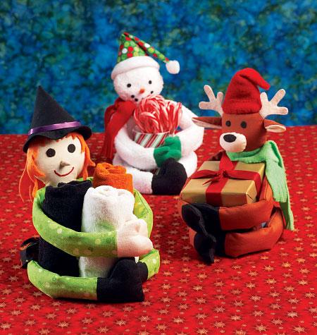 Kwik Sew Seasonal Decorative Holders 4036